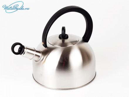 Чайник 2.5 л со свистком.