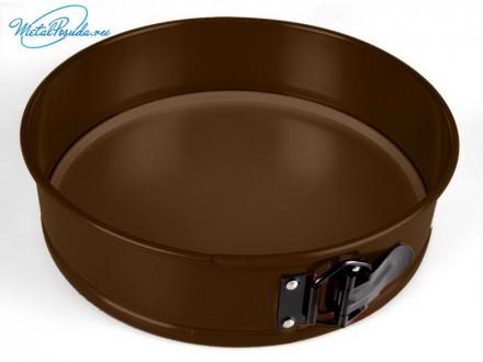 Форма для выпечки 24 см, разъемная, круглая. Taller