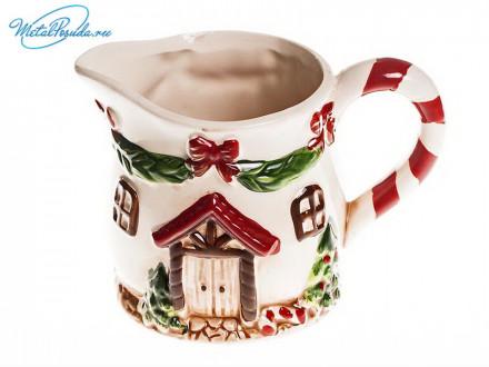 Молочник керамический