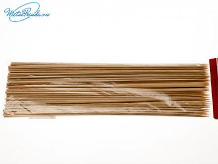 Шампур 100 шт бамбук 30 см х 3 мм 36459