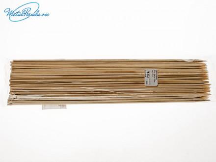 Шампур 100 шт бамбук 30 см х 3 мм 75872