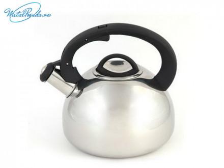 Чайник 2.5 л стальной зеркальный RWK061-2.5L К12, VETTA 847G008