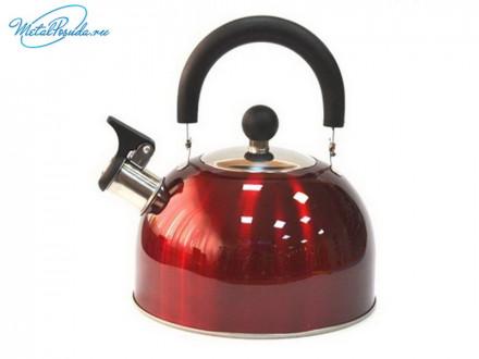 Чайник 2.5 л стальной красный RWK021 K12 847G002