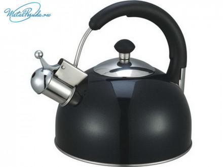Чайник 2.5 л стальной черный RWK033-2.5L-B 847G026