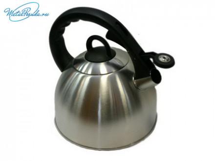 Чайник 3.0 л стальной матовый RWK038-3.0L-S К12, VETTA 847G047