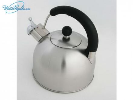 Чайник 3.0 л стальной матовый RWK033-3.0L-S К12, VETTA 847G045