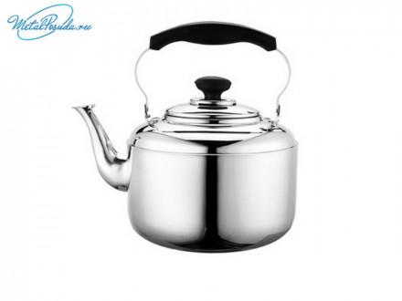 Чайник 4.0 л стальной зеркальный S-B17C03-21 847G014