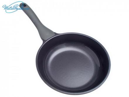 Сковорода d 22 см литая с керамическим покрытием, индукция, Гранит FH-22, СЛАВЯНА 849G037