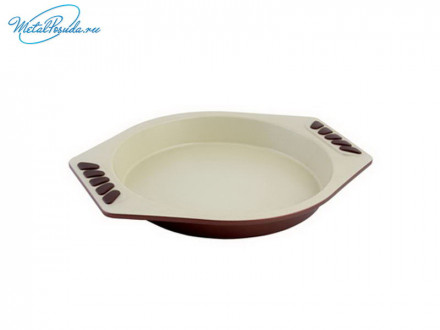 Форма для выпечки 22,5 x 5 см с керамическим покрытием круглая, Organica GMK09CM3, SATOSHI, 846G090