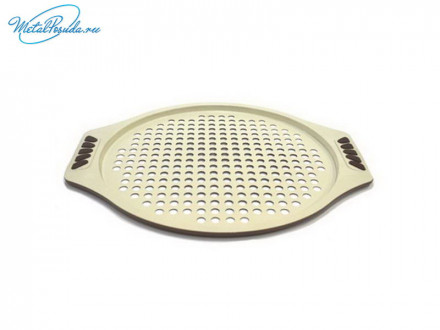 Форма для пиццы 30 x 1 см с керамическим покрытием, Organica GMK13CM3, SATOSHI, 846G124