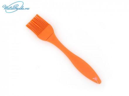 Кисточка силиконовая, оранжевая, Практик, 881G022