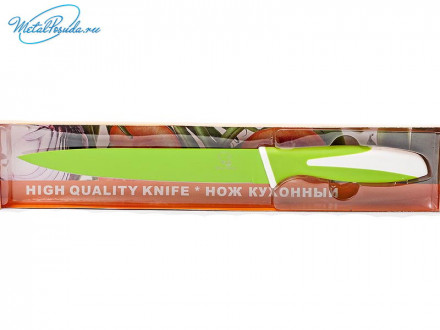Нож 19 см цветной металл  44851