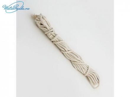 Веревка бельевая х/б узбекская 10м Х D4мм