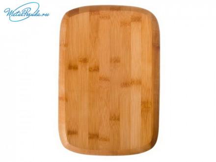 Доска разделочная 30х20х1.0 см, бамбук, VETTA