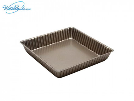 Форма для выпечки квадратная, с антипригарным покрытием,