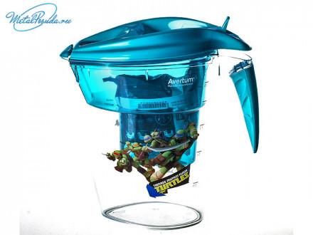 """Фильтр-кувшин для очистки воды """"Детский"""" 2,8 л. """"Черепашки ниндзя"""""""