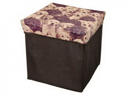 Пуфик-куб складной до 80 кг