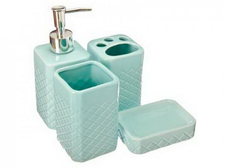 """Набор для ванной 4 предмета """"Марокко"""""""