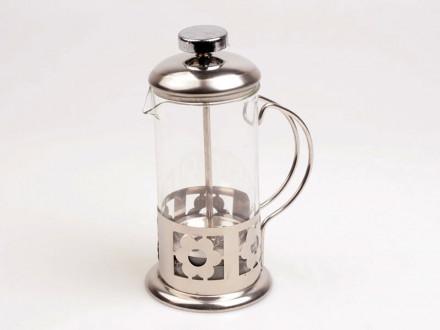 Чайник заварочный 350 млстекло-металл