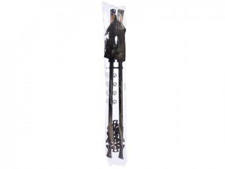 Палки для скандинавской ходьбы 2шт телескопические, антишок 65(135)см