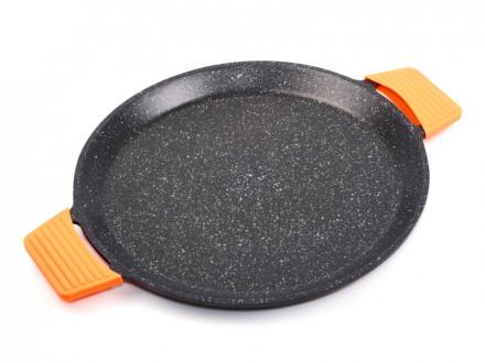 Сковорода для пиццы 32см Granit Diamond Line