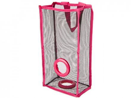 Карман подвесной для пакетов, сетка, 3 цвета, 29х15,5х10см