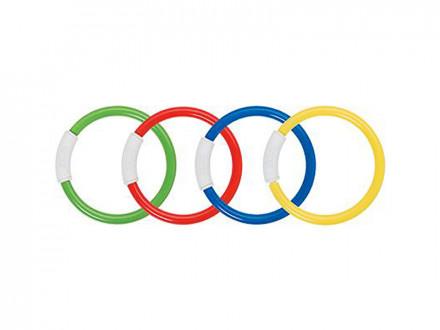 Кольца для ныряния, от 6 лет, 4 цвета,