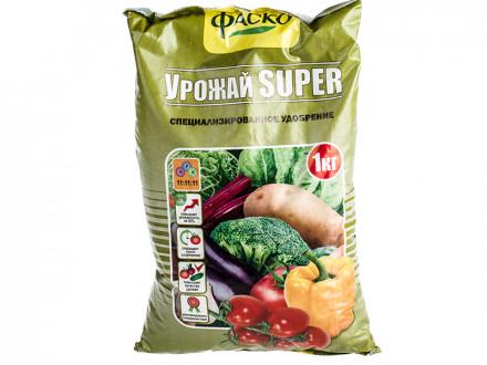 Удобрение минеральное сухое Фаско  тукосмесь Урожай SUPER 1 кг