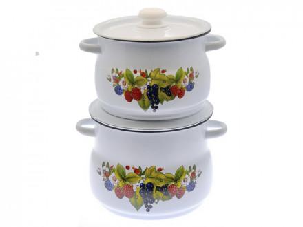 Набор кастрюль   Ягодный чай