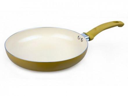 Сковорода без крышки, 24см, керамическое покрытие, MAXWELL MLA-017
