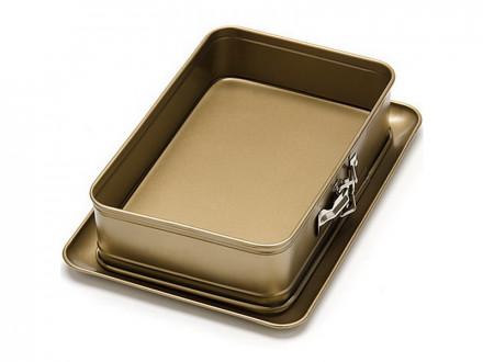 Форма для пирога, квадратная, 28х18,5х7см, МВ 24262