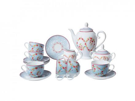 Набор чайный 15 предметов Bekker ВК-7143