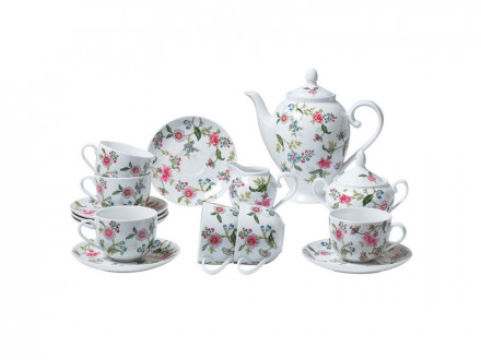 Набор чайный 15 предметов Bekker ВК-7144