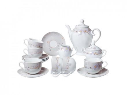 Набор чайный 15 предметов Bekker ВК-7146