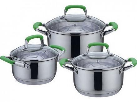 Набор посуды 6 предметов Delux Bekker BK-1738