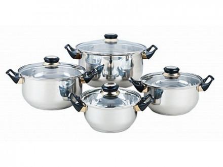 Набор посуды, 8 предметов, BEKKER, BK-4602