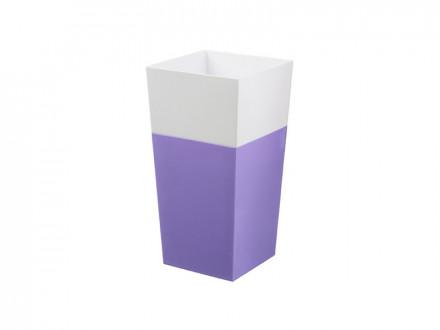 """Кашпо """"ДУАЛ"""" 140х140мм Фиолетовый"""