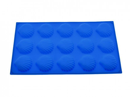 Форма для выпечки силиконовая 15 РАКУШЕК