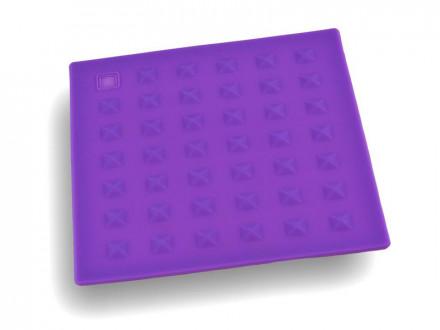 Подставка под горячее силиконовая квадратная 17,3см