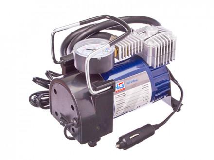 Компрессор автомобильный, штекер прикур, в сумке, 12V, 140W, 35 л/мин, металл
