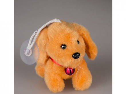 Игрушка мягкая собака 8см 1 s-585