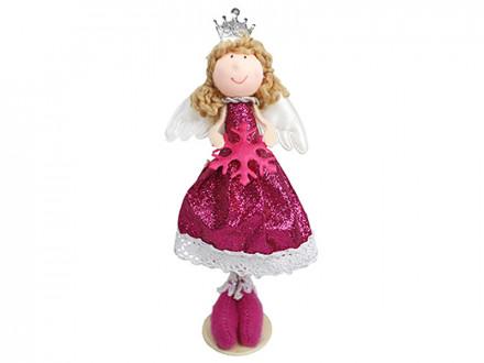 """Мягкий сувенир 15см, полиэстер, """"Принцесса-Зима"""", 3 дизайна"""