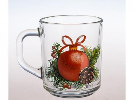 Кружка green tea Новогоднее настроение 200 мл