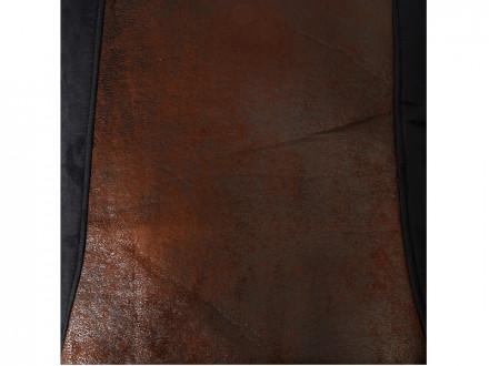 """Комплект универс. чехлов 9 пр  полиэстер + алькантара  3мм поролон  черн-корич """"Сафари"""" NEW GALAXY"""