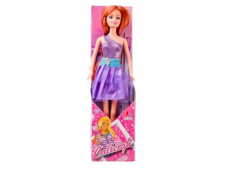 Кукла, пластик, полиэстер, 29см, 3 дизайна