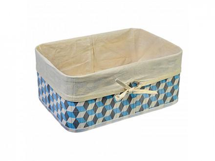 Коробка для хранения складная, бамбук, 40x30x18см Кубы VETTA