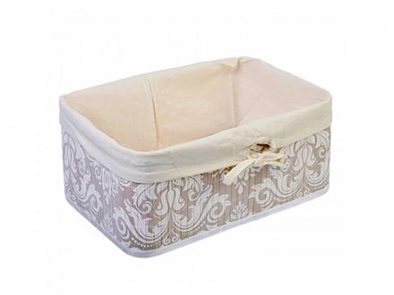 Коробка для хранения складная, бамбук, 38x28x16см Вензель VETTA