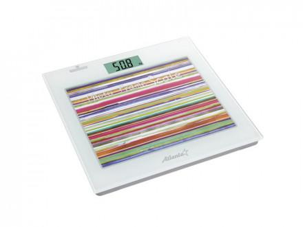 Весы электронные, 150кг, память, диагностирование, стекло