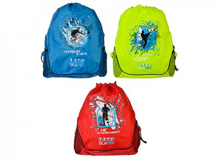 Сумка-рюкзак, полиэстер, 40x30см, 3 цвета SilaPro