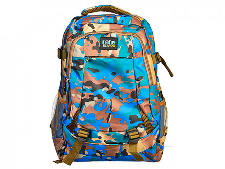 Рюкзак спортивный, нейлон, 46x32см SilaPro